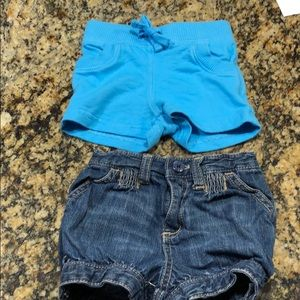 Old Navy size 6-12 month shorts bundle